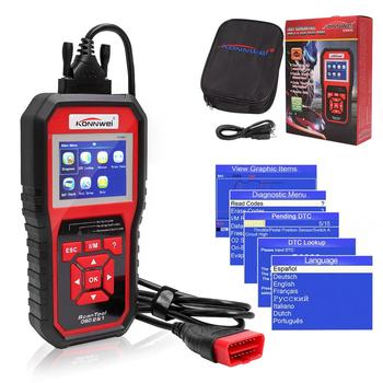 Scanner Auto Diagnostic Scanner Full Function Car Diagnosis  auto check Car Scanner Universal OBD2 Engine Code Reader KW850