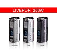 Original Yosta Livepor 256 256w Box Mod 256w Vape Box Mods Powered By 3 18650 Batteries