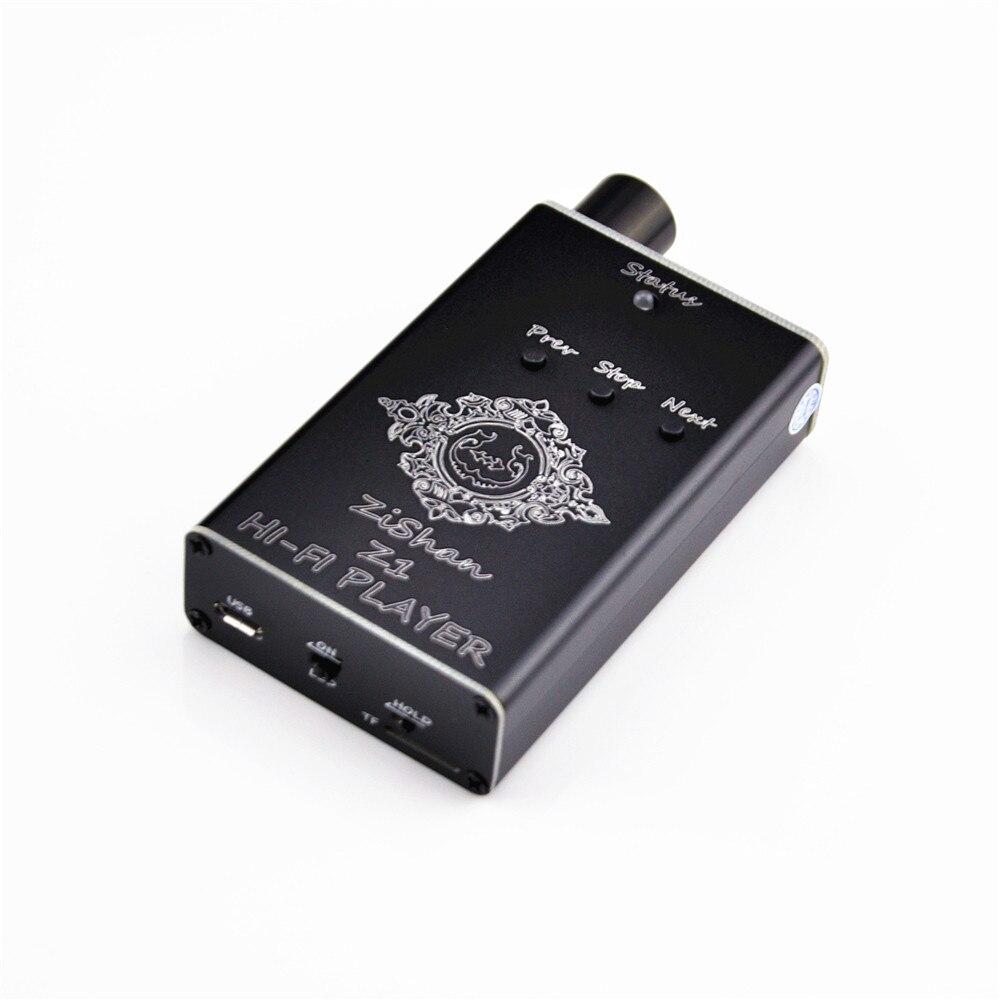 Neue Zishan Z1 DSD Mp3-player Professionelle Verlustfreie HiFi Protable Musik-player Unterstützung Kopfhörer Verstärker DIY USB TF Soundkarte
