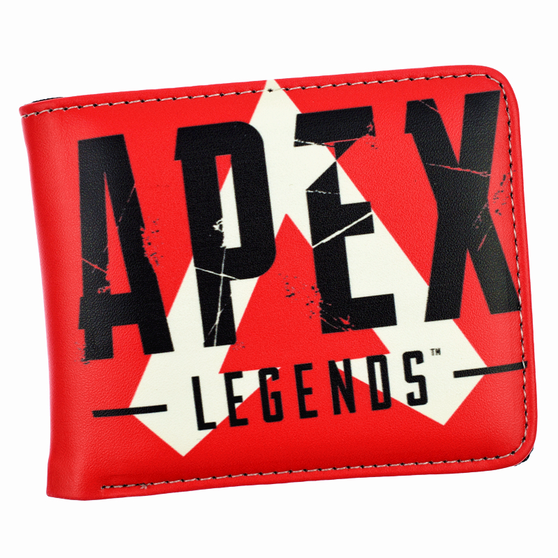 FVIP Hot Game APEX Legends Wallet Cool Design Short Purse For Boys Men's Wallets