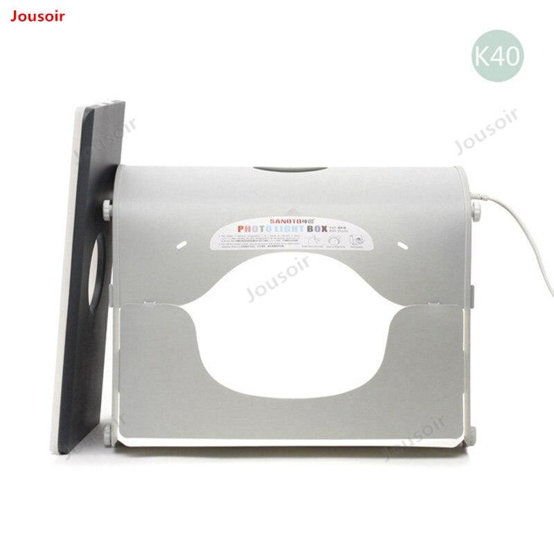 Профессиональный портативный мини-набор для фотостудии, светодиодный светильник для фотостудии, софтбокс SANOTO k40 для 220/110 в ЕС CD50 T03 Y