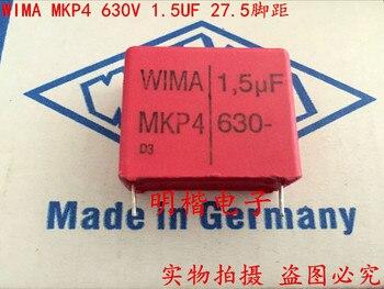 2019 горячая распродажа 10 шт/20 штук Германия WIMA MKP4 630V 1,5 мкФ 630V 155 P: 27,5 мм аудио конденсатор, бесплатная доставка