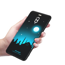 Meizu M6 Note Case M6note Cover Soft Back Silicone Black Mofi Ultra Thin Night Light Noctilucent