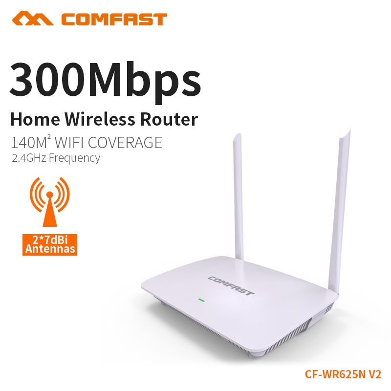 Wireless WIFI Router WR625N-V2 English Version 300Mbps WiFi Repeater 2.4Gghz AP Smart System Control WiFi Wireless Routers