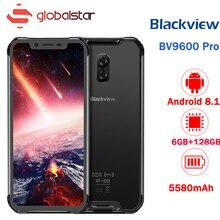 Blackview BV9600 PRO Mobile Phone Android 8.1 6GB RAM 128GB ROM 5580mAh 6.21inch TYPE-C NFC IP69K IP68 Waterproof Smartphone