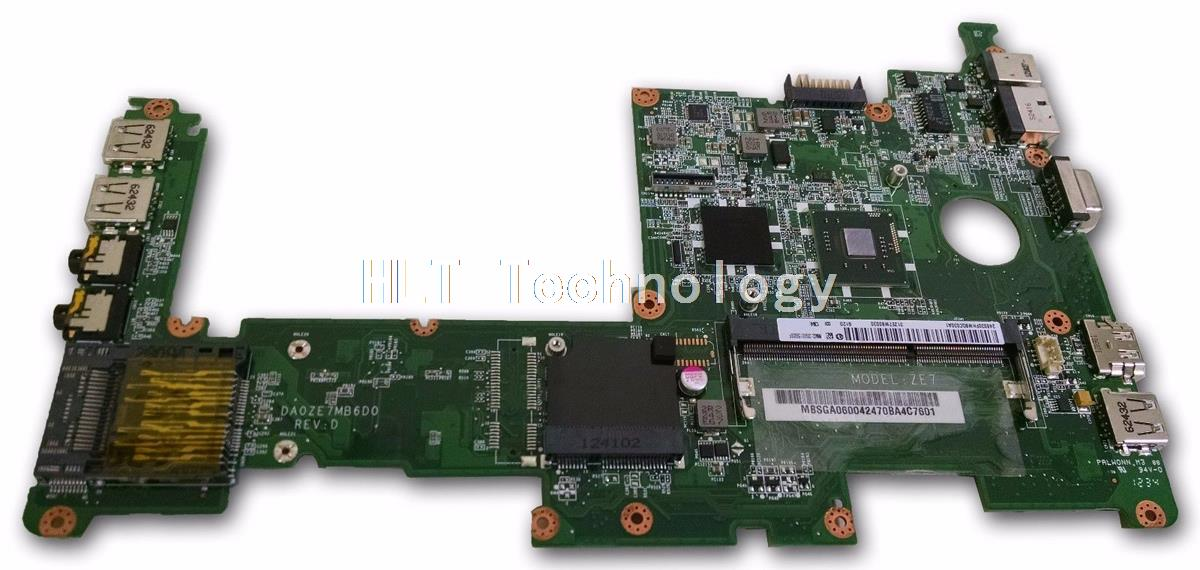 Original laptop Motherboard For Acer D270 ZE7 DA0ZE7MB6D0 MBSGA06002 MB.SGA06.002 integrated graphics card 100% fully tested integrated laptop motherboard for 5738 08245 1 jv50 mv mb 48 4cg01 011