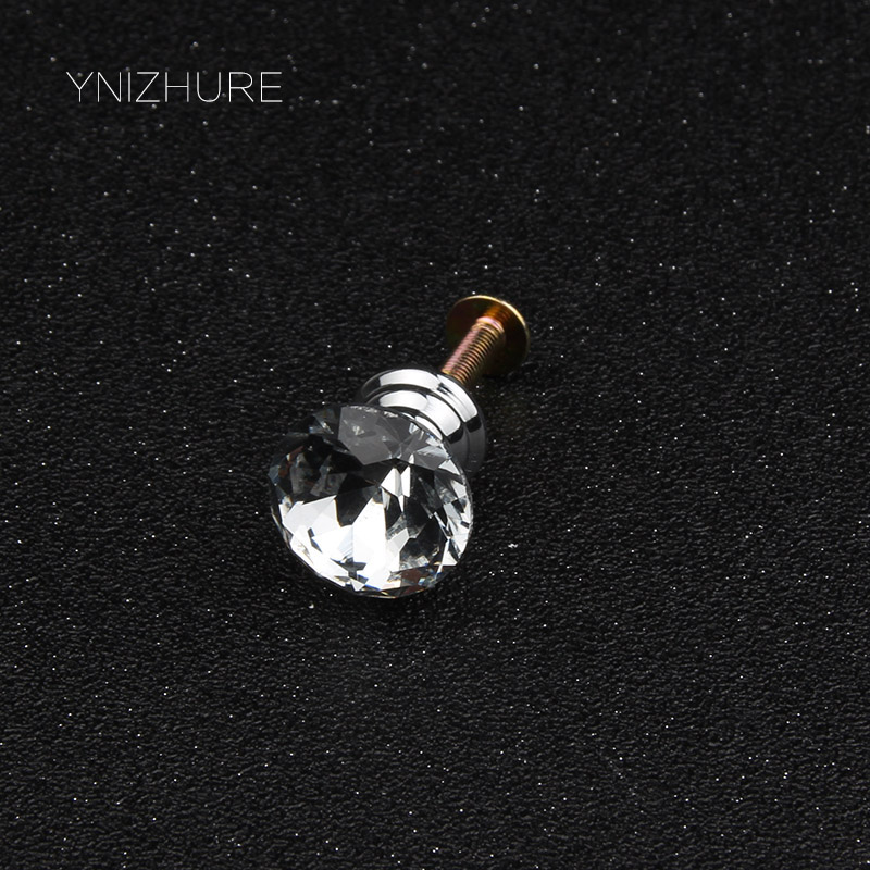 Cabinet Hardware Orderly 1pack/10 Pcs 20mm Diamond Shape Crystal Glass Drawer Cabinet Knobs And Pull Handles Kitchen Door Wardrobe Hardware Accessories Drip-Dry Cabinet Pulls