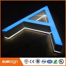 Сид маленький размер писем освещения с подсветкой знак светодиодный мини