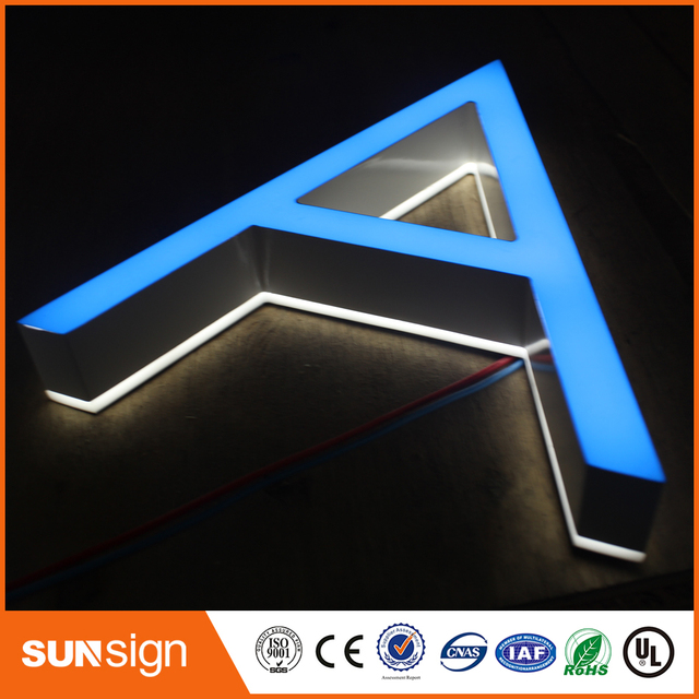 US $0 8 |LED Small size lighting letters frontlit sign mini led letters-in  Electronic Signs from Electronic Components & Supplies on Aliexpress com |
