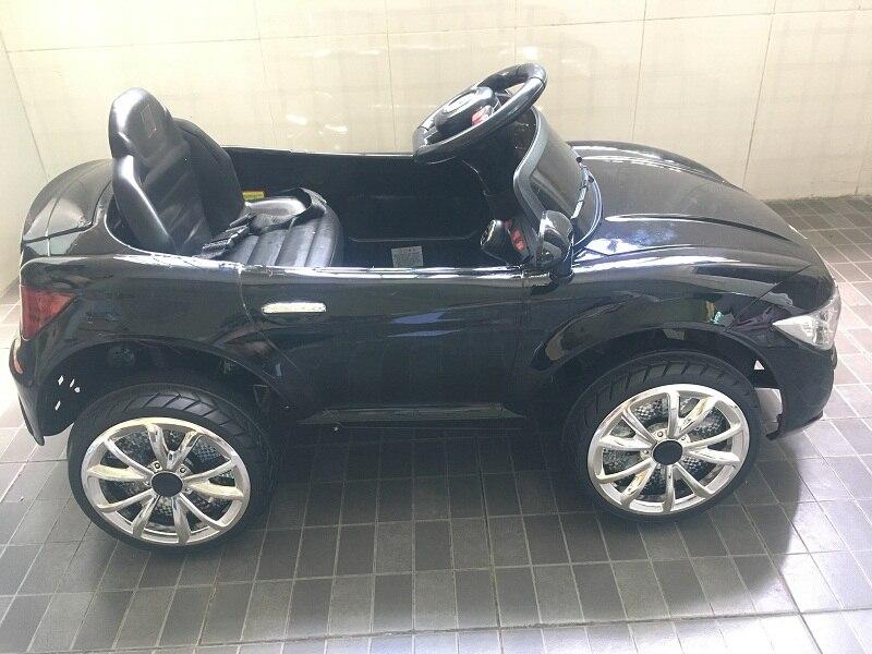 Le nouveau grand bébé enfants télécommande RC ride sur voiture électrique quatre roues double entraînement jouet voiture rechargeable bébé peut s'asseoir sur - 2
