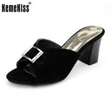 Damen hochhackigen pantoffeln plattform platz ferse pailletten offene spitze sandalen frauen weibliche marke qualität schuhe größe 33-44 PC00105
