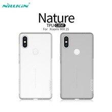 Orijinal Xiaomi Mi MIX 2 S NILLKIN Doğa TPU Fundas Için Kılıf Xiaomi Için Mix 2 s Yumuşak Şeffaf Silikon Coque Telefon Kapak Mix...