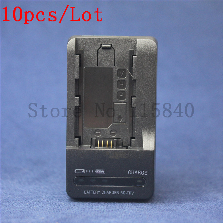 10pcs lot BC TRV TRV Battery Charger for SONY Camera NP FP50 FP70 FP90 NP FH50