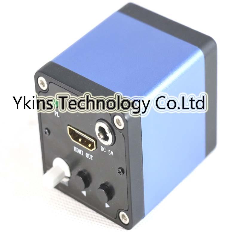 Free shipping 2MP HDMI 1920*1080 HD Digital Industry Microscope Camera Set 30 fps high speed microscope 10x zoo 1/3 inch sensor