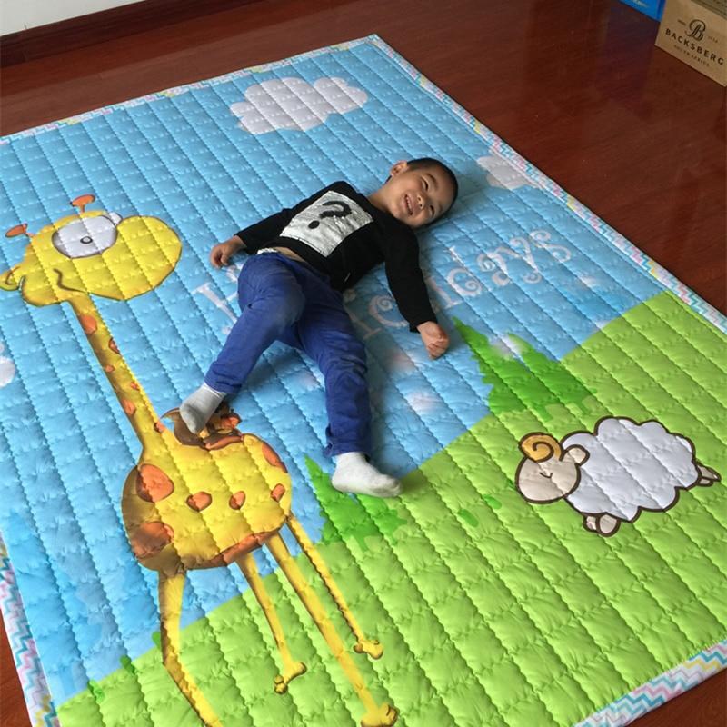 Nette Karikatur Bodenmatte Anti Slip Puzzle Teppich Für Kinderzimmer Kinder  Spielen Spiel Teppiche Hautfreundlich Baby Krabbeln Gymnastikmatte Pad In  Nette ...