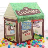 Cartoon Baby Toy Tent Children Tree Play House Kids Private Space Spare Room Play Princess Toy Tent