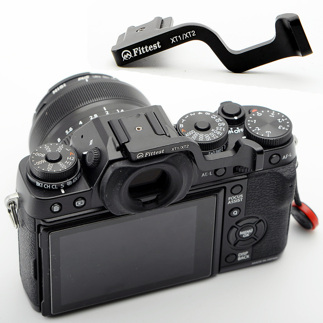 FITTEST Thumb Up <font><b>Grip</b></font> Made for <font><b>Fujifilm</b></font> Fuji <font><b>XT1</b></font> X-T1 XT2 XT-2 Camera image