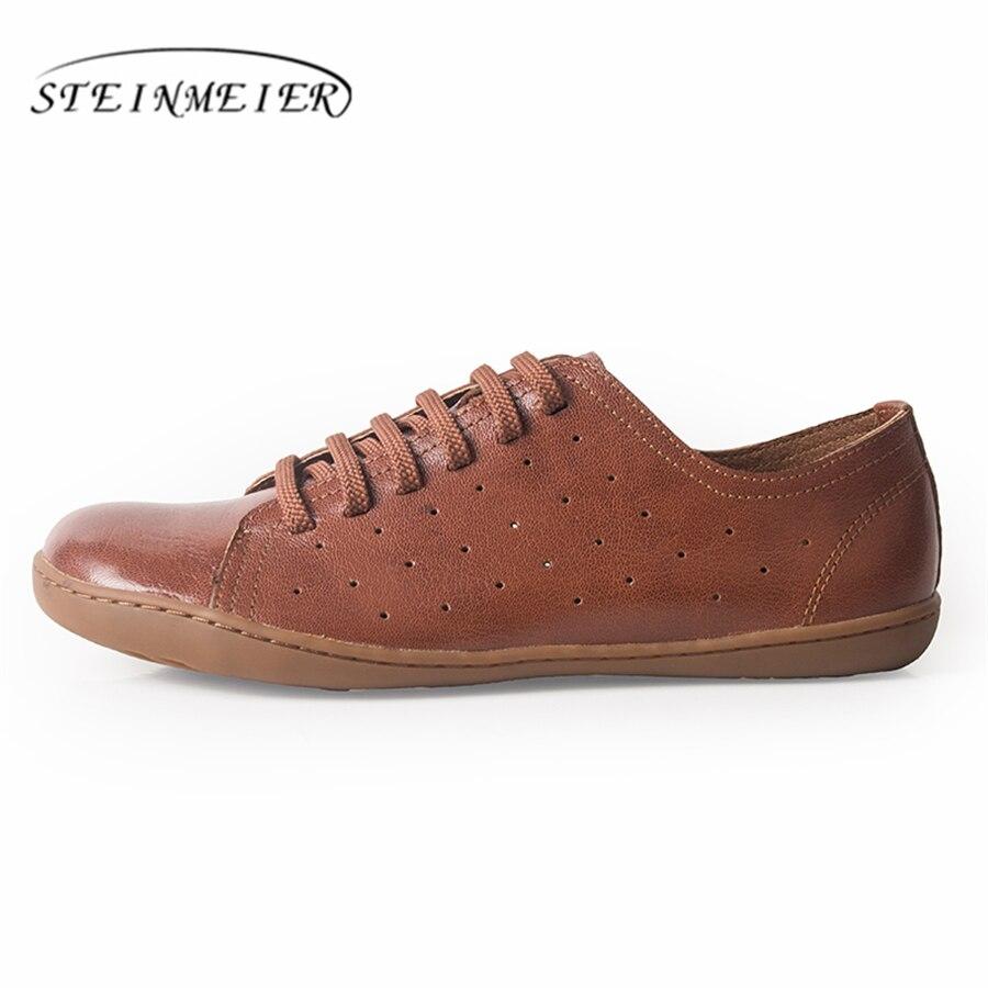 Ayakk.'ten Erkek Rahat Ayakkabılar'de Erkekler rahat ayakkabılar erkek hakiki deri düz ayakkabı lüks marka flats ayakkabı dantel up loafer'lar mokasen erkek ayakkabı'da  Grup 1