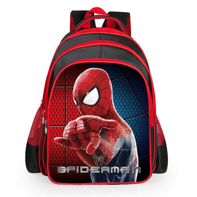 High Quality Orthopedic Waterproof cartoon Spiderman Backpacks ...