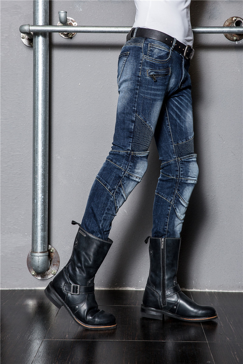 Duhan Special Offer Men Motorcycle Riding Pants 2016 New Uglybros Ubp016 Jeans Men's Skinny Harley Ride Road Motorcycle jeans men 2016 plus size blue denim skinny jeans men stretch jeans famous brand trousers loose feet pants long jeans for men p10