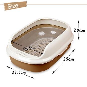 Cat Toilet Litter Durable Box 5