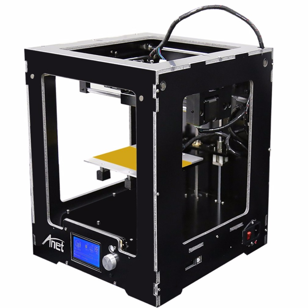 Anet A3-S LCD 3D Printer High-precision Aluminum Hotbed Full Assembled Desktop FDM Printing Machine Kit With 10m Filament simline vintage 100