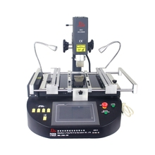 LY 5500W OMEGA XD universal bga welding machine 3 zones hot air Infrared solder station tools hot sell zhuomao zm r5860c three temperature zones infrared