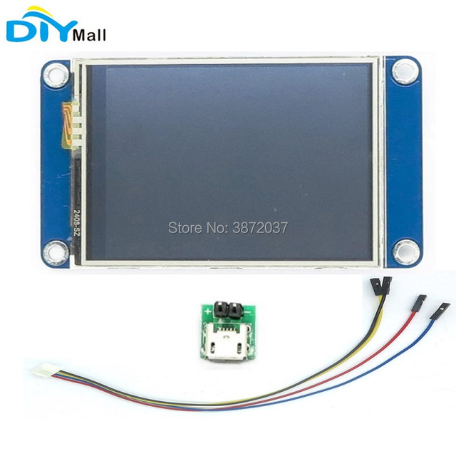 "Nextion Basic 2.4"" 2.8"" 3.2"" 3.5"" 4.3"" 5.0"" 7.0""Resistive Touch Screen HMI Smart Display Module for Arduino Raspberry Pi"