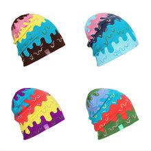 Darmowa wysyłka mężczyźni kobiety narciarstwo czapki ciepłe zimowe Knitting Skating czaszka czapka czapki czapki z daszkiem czapki czapka narciarska Snowboard czapki tanie tanio NoEnName_Null WOMEN W paski Akrylowe Termiczne