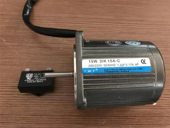 15W single phase 220V AC fixed speed optical axis motor / constant speed motor 15W 31K 15A-C