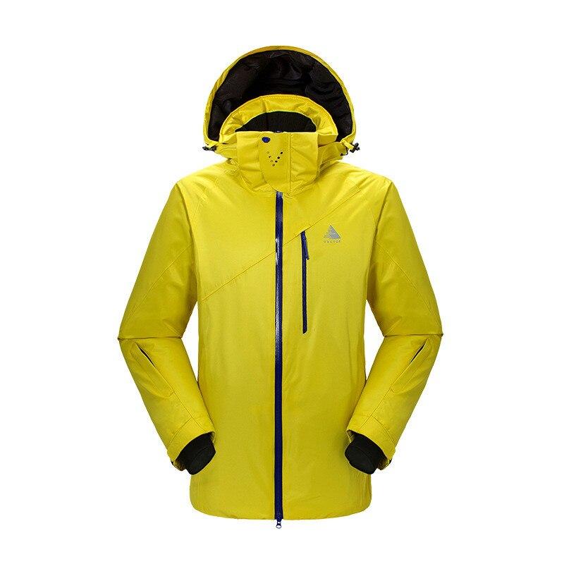 Combinaison de Ski pour hommes en plein air épaissie propre chaud résistant à l'usure imperméable à séchage rapide Sports escalade veste de Ski pour hommes - 3