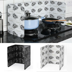 1pc Home Stove Foil Plate Screens Prevent Oil Splash Cooking Hot Baffle Kitchen Tool Dividers New Hot