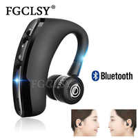 FGCLSY 2019 New V9 Wireless Bluetooth Earphone Stereo Handsfree call Business Headset with Mic For iPhone Samsung