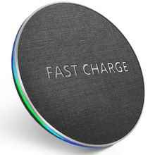 GETIHU Qi Wireless Charger 10W Fast For iPhone 8 Plus X XS XSMAX Wireless Charging Pad For Samsung S8 Wirless Charger for Phone