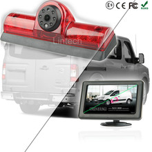 4.3 Inch Monitor Sony CCD Night Vision Camera Car NV Passenger and Cargo Van 2009-2014