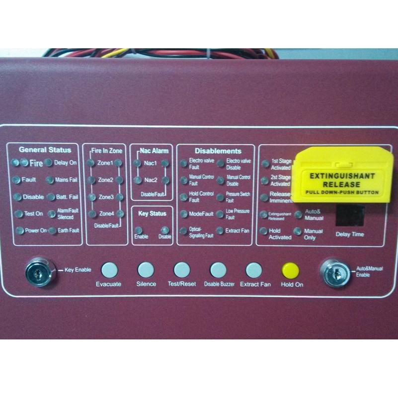 4 ZONE Gas brandcontroller AUTOMATISK SLUKKERBETJENINGSPANEL - Sikkerhed og beskyttelse - Foto 2
