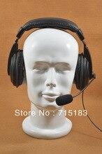 Motorcycle helmet Heavy Duty VOX M328 Plug Headphone for Motorola GP328 GP340 GP380 GP640 MTX8250 HT750