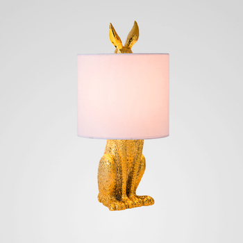 Nordic Rabbit LED Table Lamp Industrial Table Lights Bedside LED Desk Lamp Bedroom Living Room Dining Kitchen Fixtures Luminaire