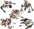 2016 LEPIN StarWars Microfighters Building Block Set 5pcs Clone Wars Micro Fighter Model Toys Compatible legoINGlys Star Wars