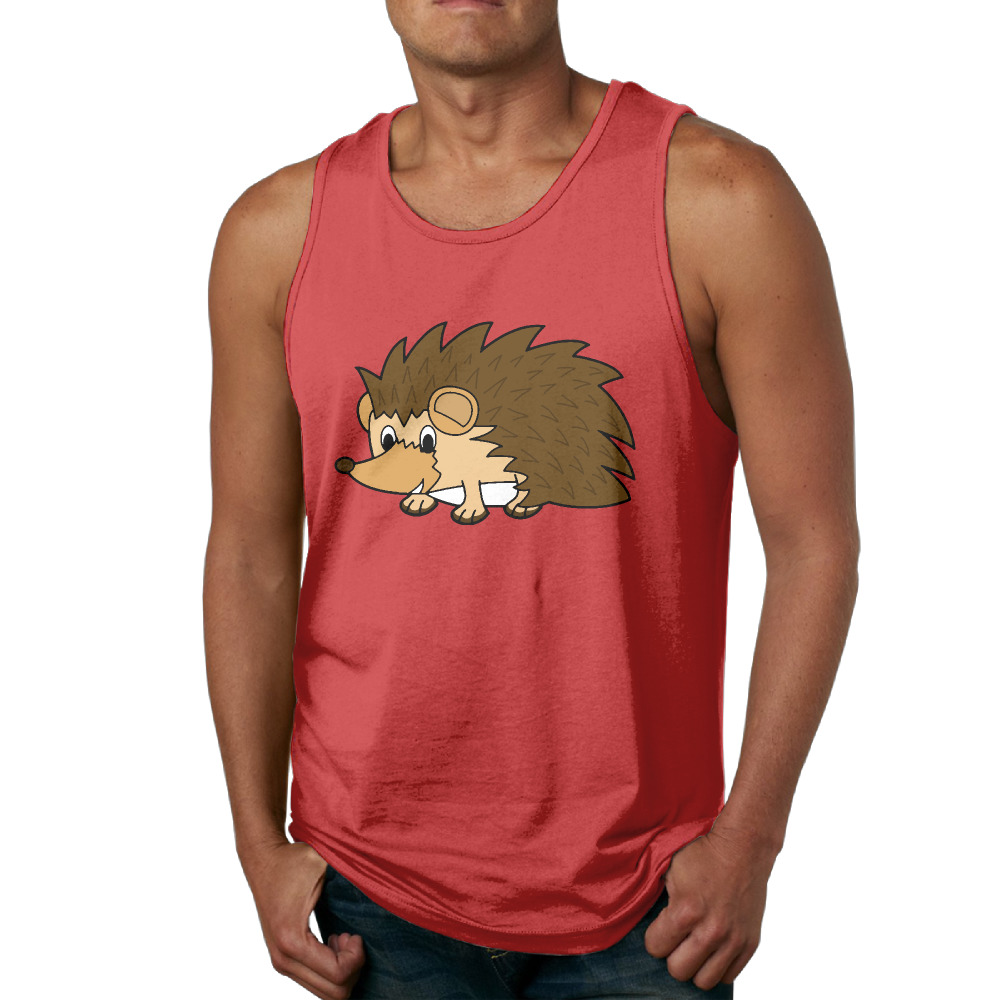 Anatomy Of A HedgehogT Shirts Graphic Printed Tank Top Men Vest ...