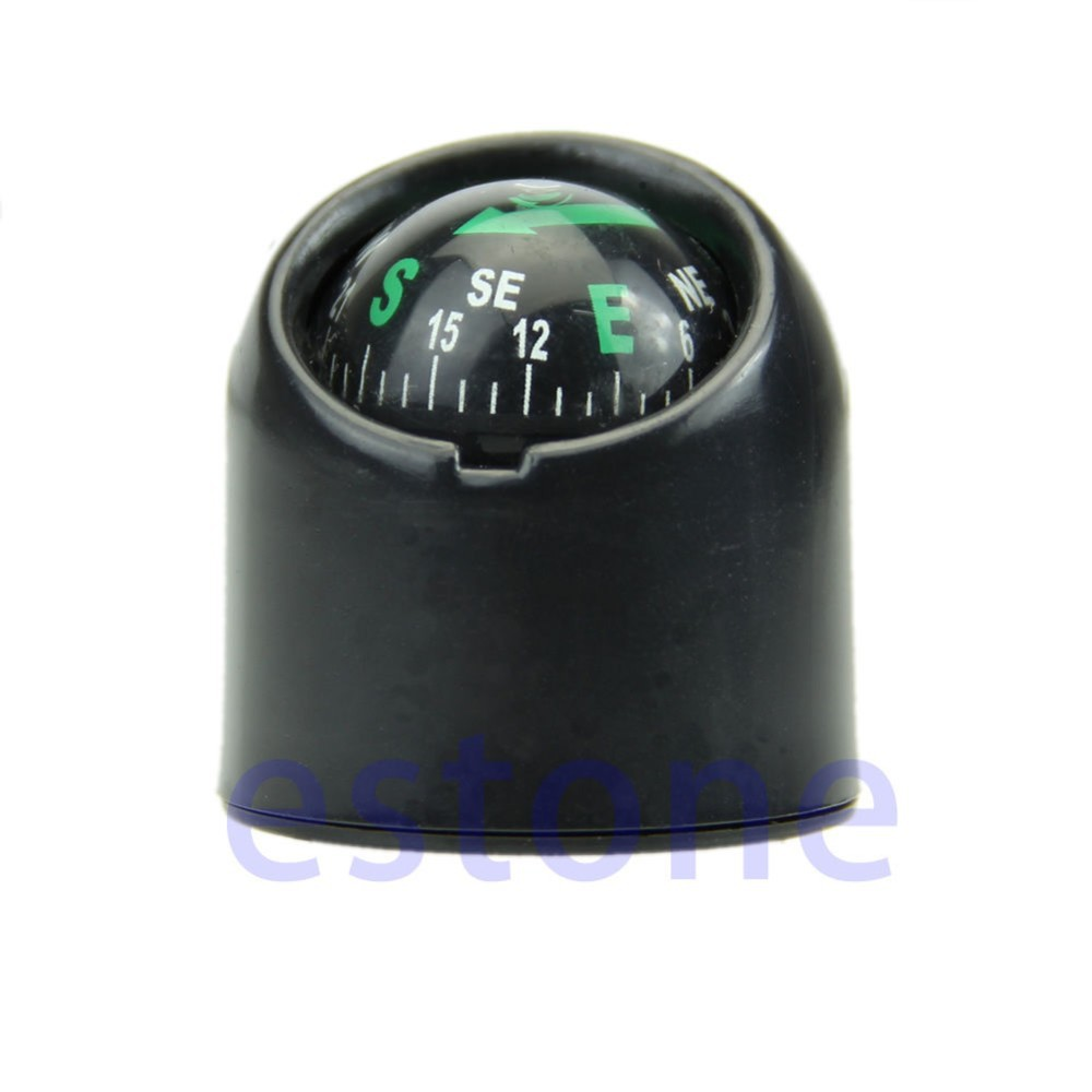 Outdoor Accessories Auto Car Truck Boat Adhensive Sticker Mini Portable Self adhesive Compass Ball-in Compass from Sports & Entertainment