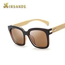 KINSANDE Bamboo Sunglasses Men Wood Sun Glasses Oculos font b De b font font b Sol