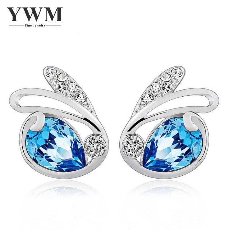 YWM Clearance Angel Eye Stud Earrings Korean Fashion Jewelry