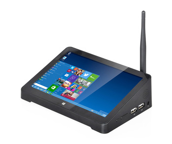 """Original Mini PC All In One PC Computer Desktop Tablet POS Windows 10 Home F2 7"""" Touch Screen WIFI Intel Quad Core Box TV Mini"""