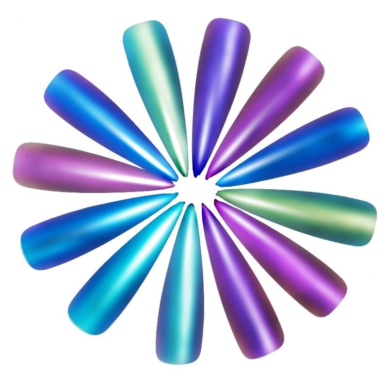 Schönheit & Gesundheit Gewissenhaft 12 Farben/set Einhorn Aurora Neon Pigment Chamäleon Meerjungfrau Pulver Spiegel Wirkung Chrome Regenbogen Staub Nägel Kunst Liefert Werkzeuge Nails Art & Werkzeuge