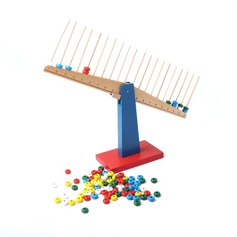 Jouets Montessori en bois bébé Montessori échelles matériaux éducatifs jouets d'apprentissage pour les tout-petits Juguetes Brinquedos MH0866H - 3