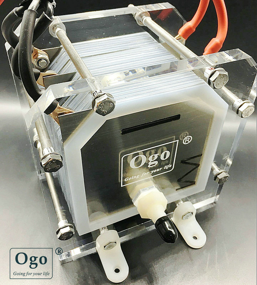 NEW OGO HHO Gas Generator 25plates Less consumption More efficiency CE FCC RoHS certificates conspicuous consumption