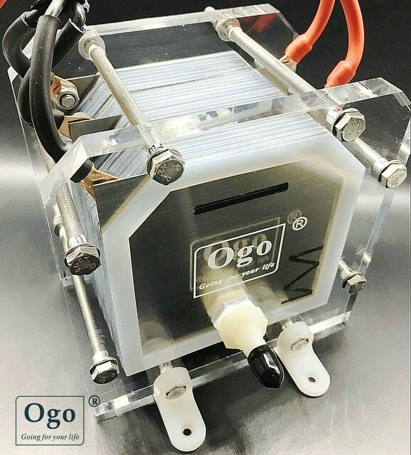 9b45ea18694 NOVA OGO HHO Gerador de Gás de 25 placas Menos consumo Mais eficiência CE  certificados FCC