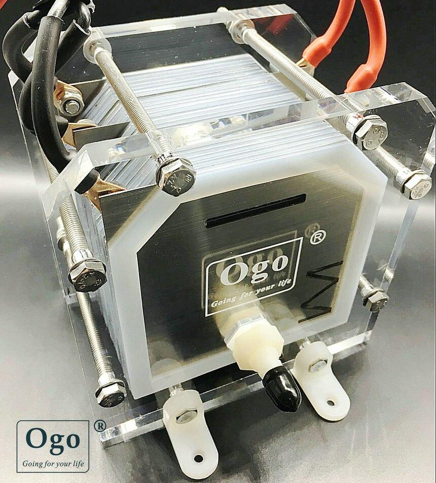 Novo ogo hho gerador de gás 25 placas menos consumo mais eficiência ce fcc rohs certificados