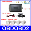 New Top-Rated Car Recerse Radar +4 Sensors Optional + Double CPU Car Parking Sensor Led Display Indicator Rada CNP Free